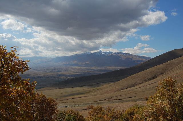 Mount Aragats near Aparan
