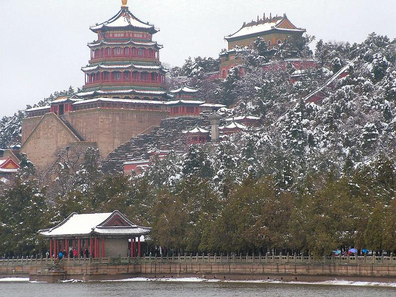 Beijing - Summer Palace in winter