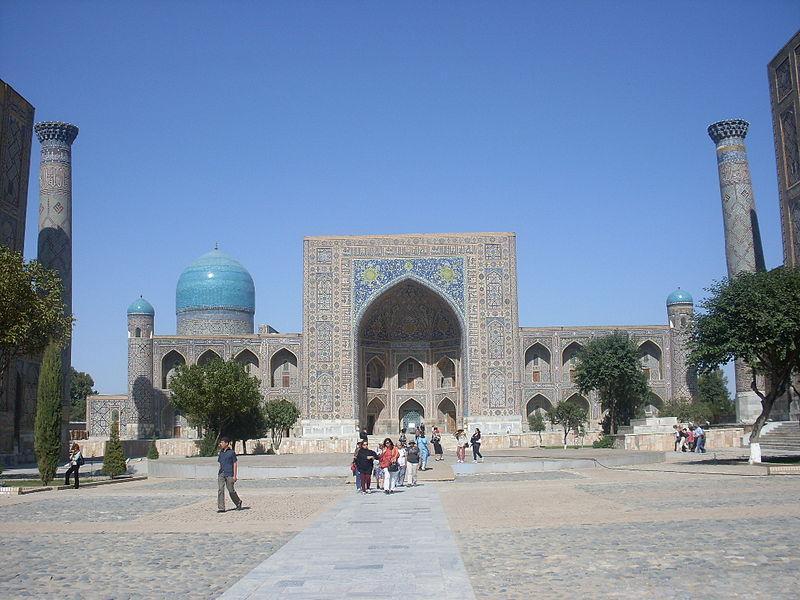 medrese_tillya_kari_samarkand_uzbekistan