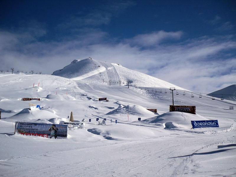 Gudauri-slope