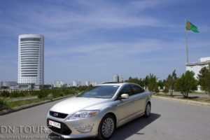 Ford-Mondeo-DN-Tours-business-travel-agency-rent-a-car-Ashgabat-Turkmenistan